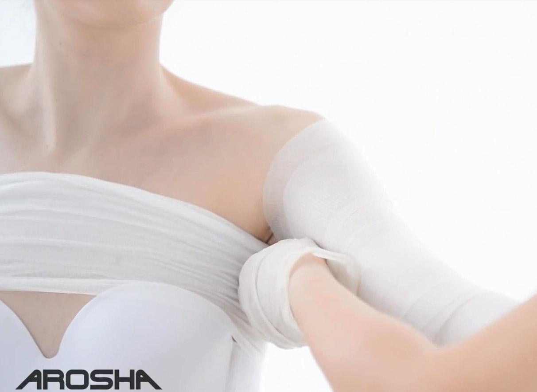 Bandaże Arosha Gdańsk, Bandaże Arosha ramiona w gdańsku, zabieg antycellulitowy w gdańsku